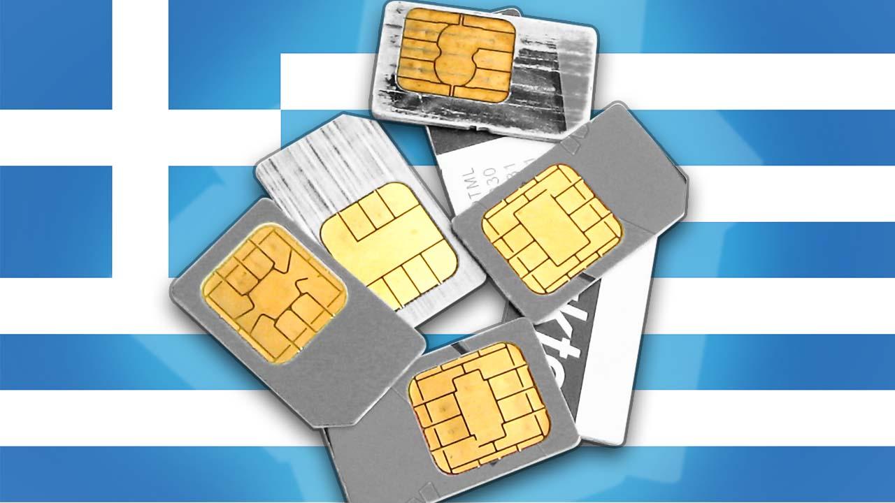 Prepaid Karten Griechenland