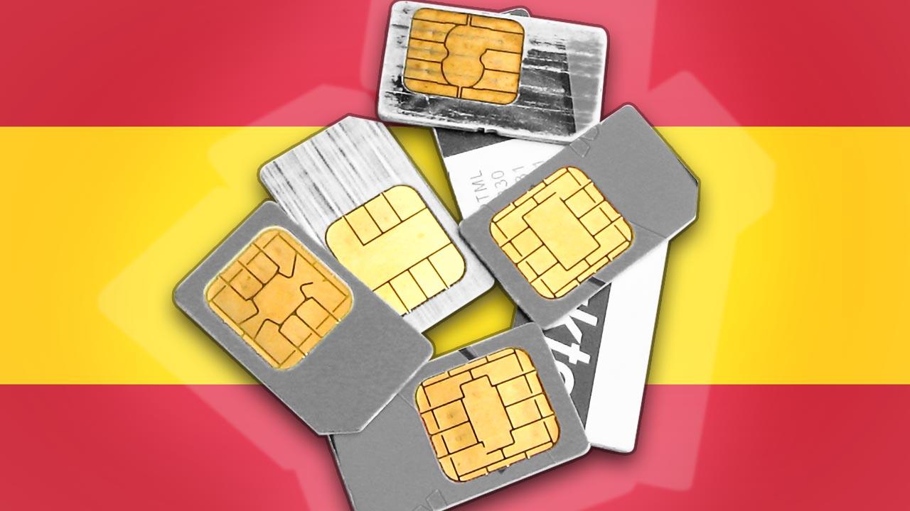 Simkarte Spanien FIMG