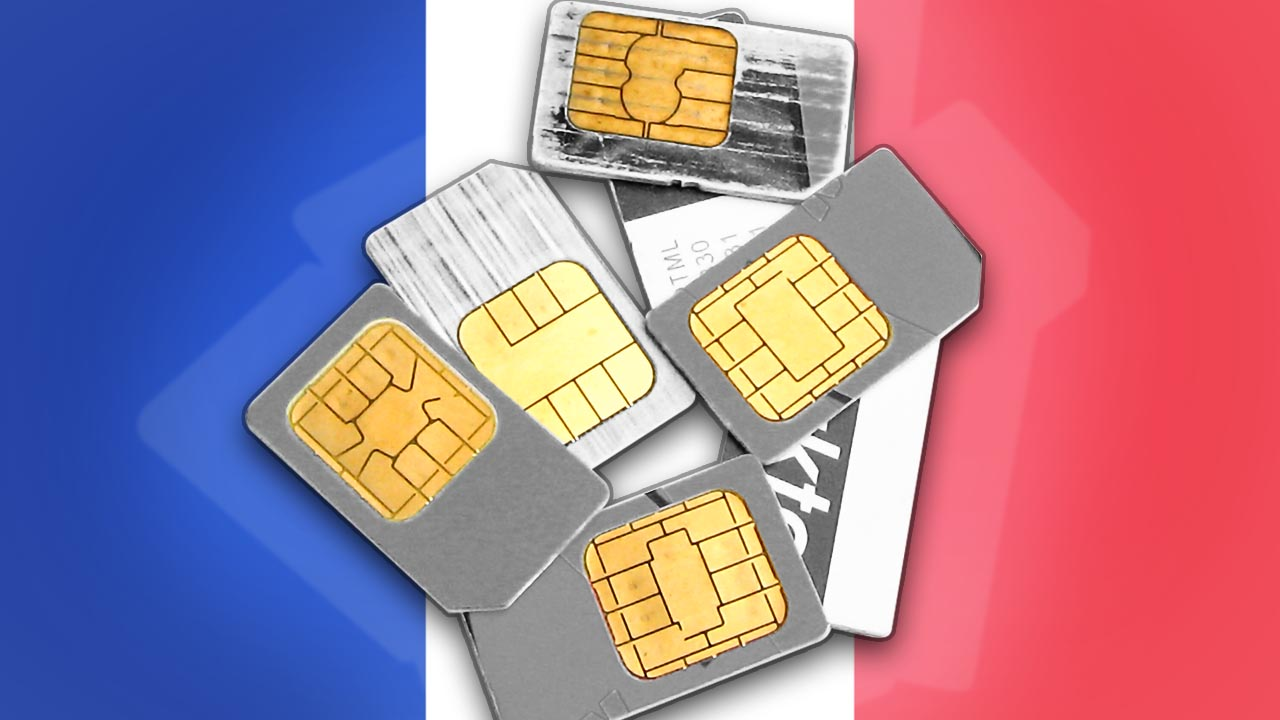 Prepaidkarten in Frankreich
