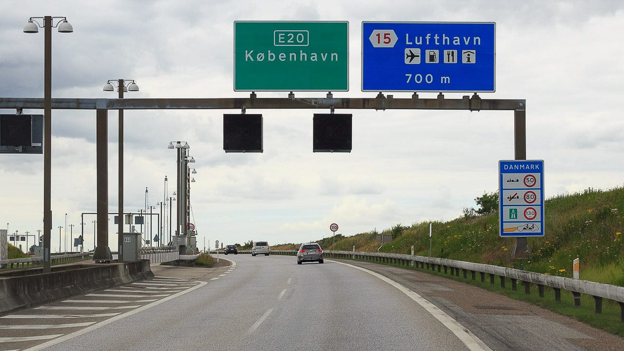 Verkehrsregeln Dänemark