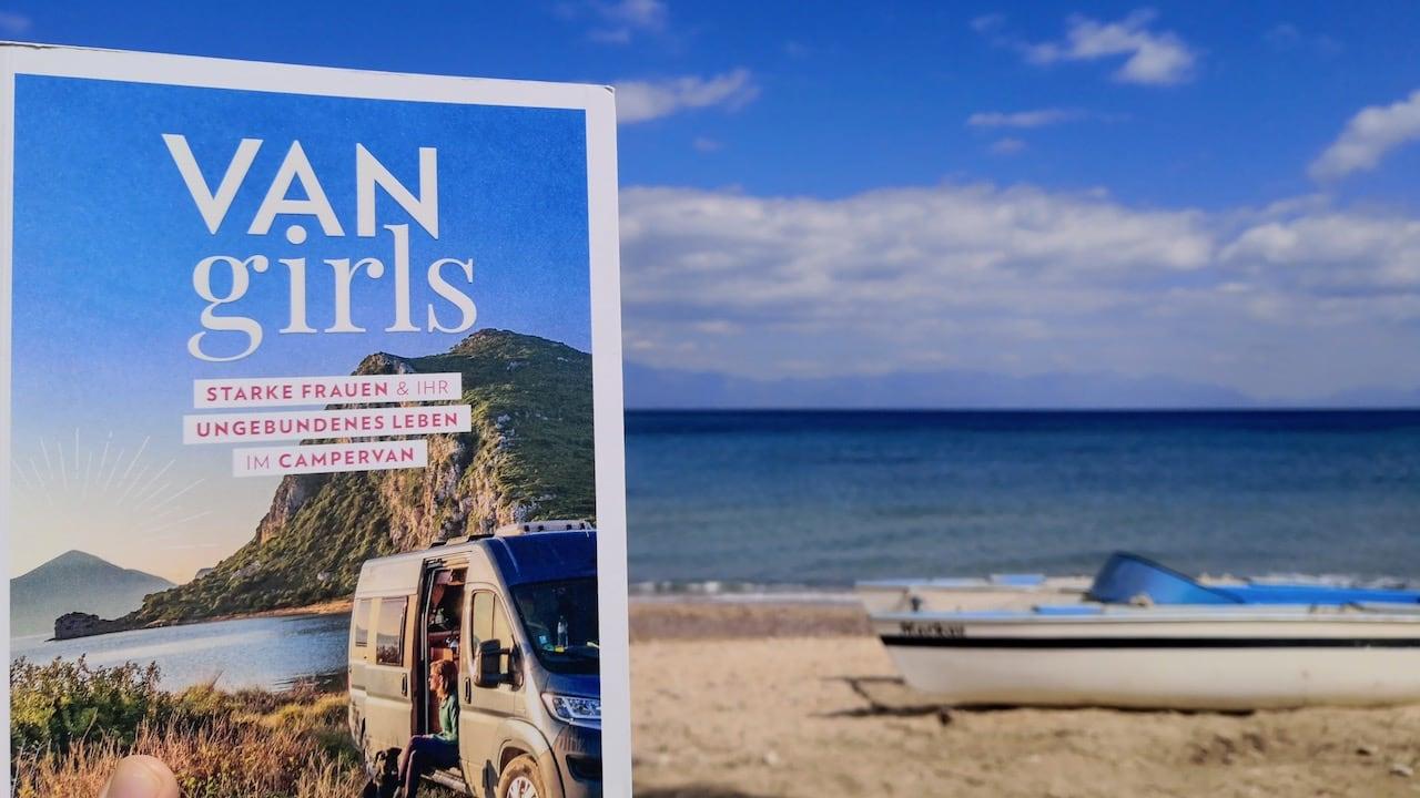 Van Girls Buch für Camper