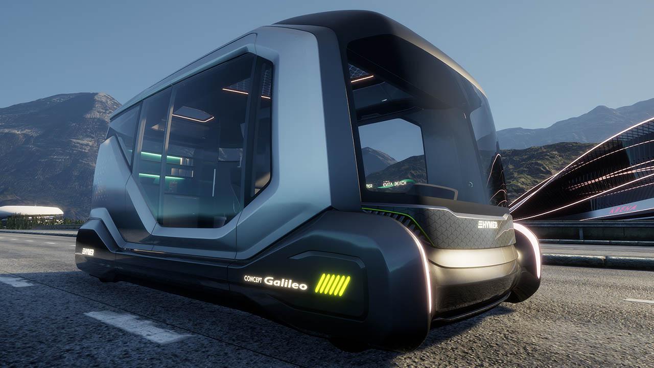 Der Hymer Concept Galileo und Besichtigung mit VR — CamperStyle