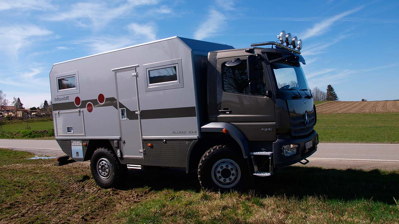 Das Bimobil EX480 auf Expeditionstour