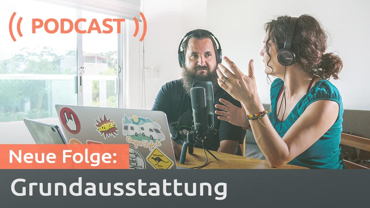 Podcast: Camping-Ausstattung