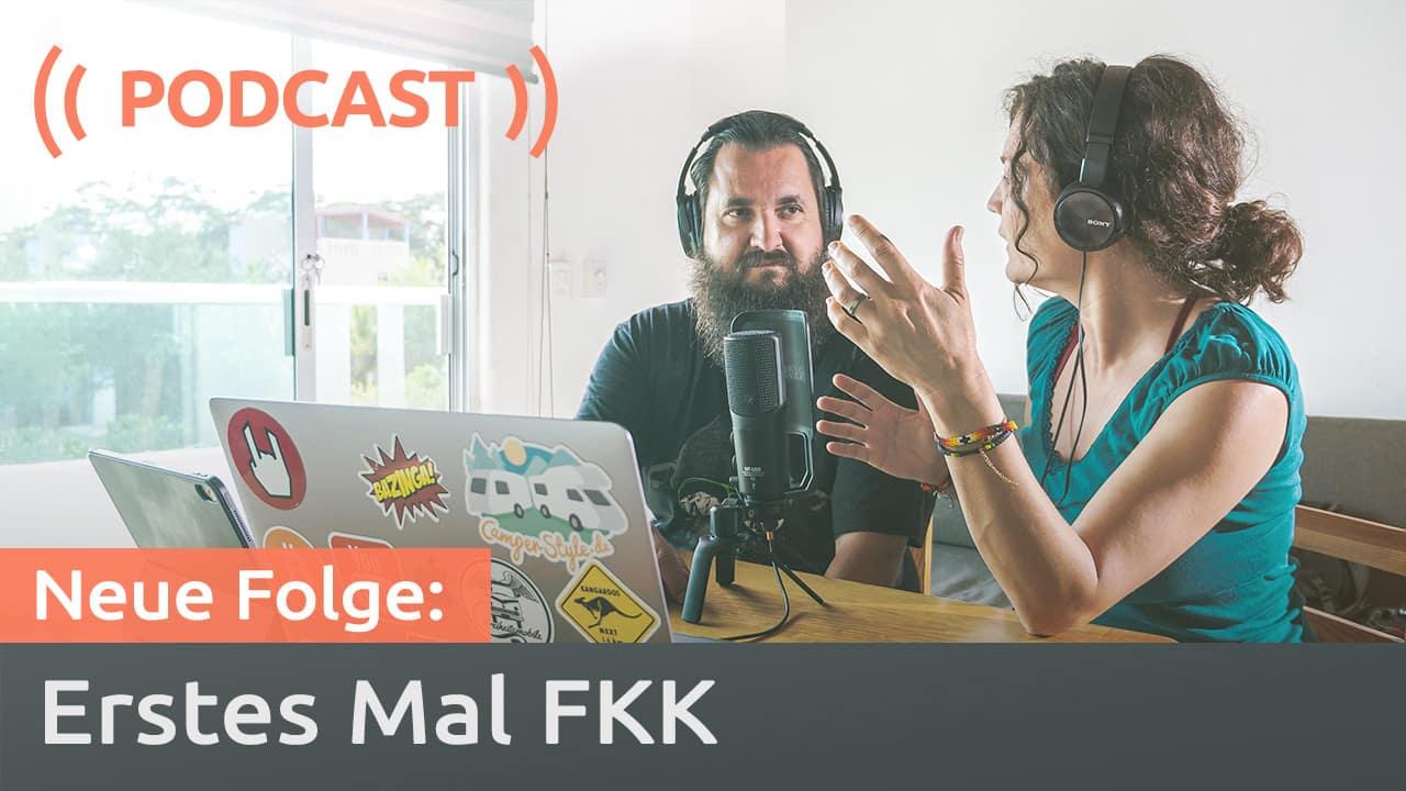Podcast zum Thema FKK Camping