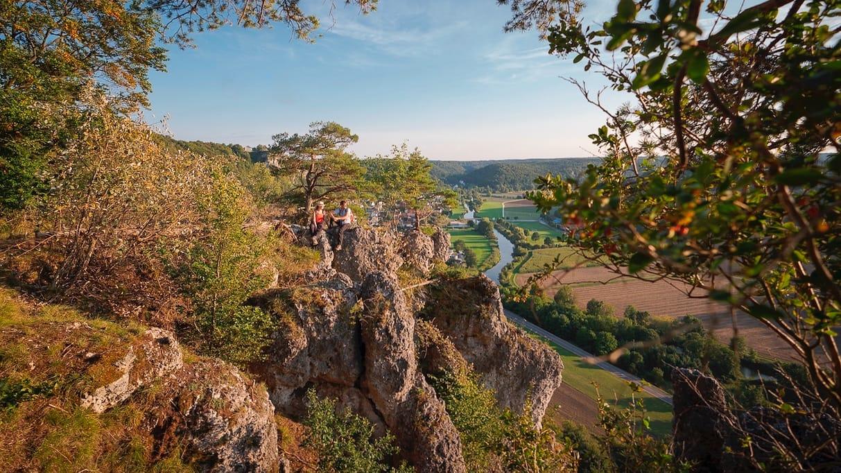 Wandern in Deutschland Naturpark Altmühltal