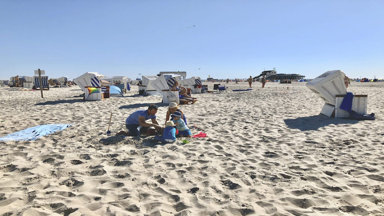 Camping mit Kindern an der Nordsee