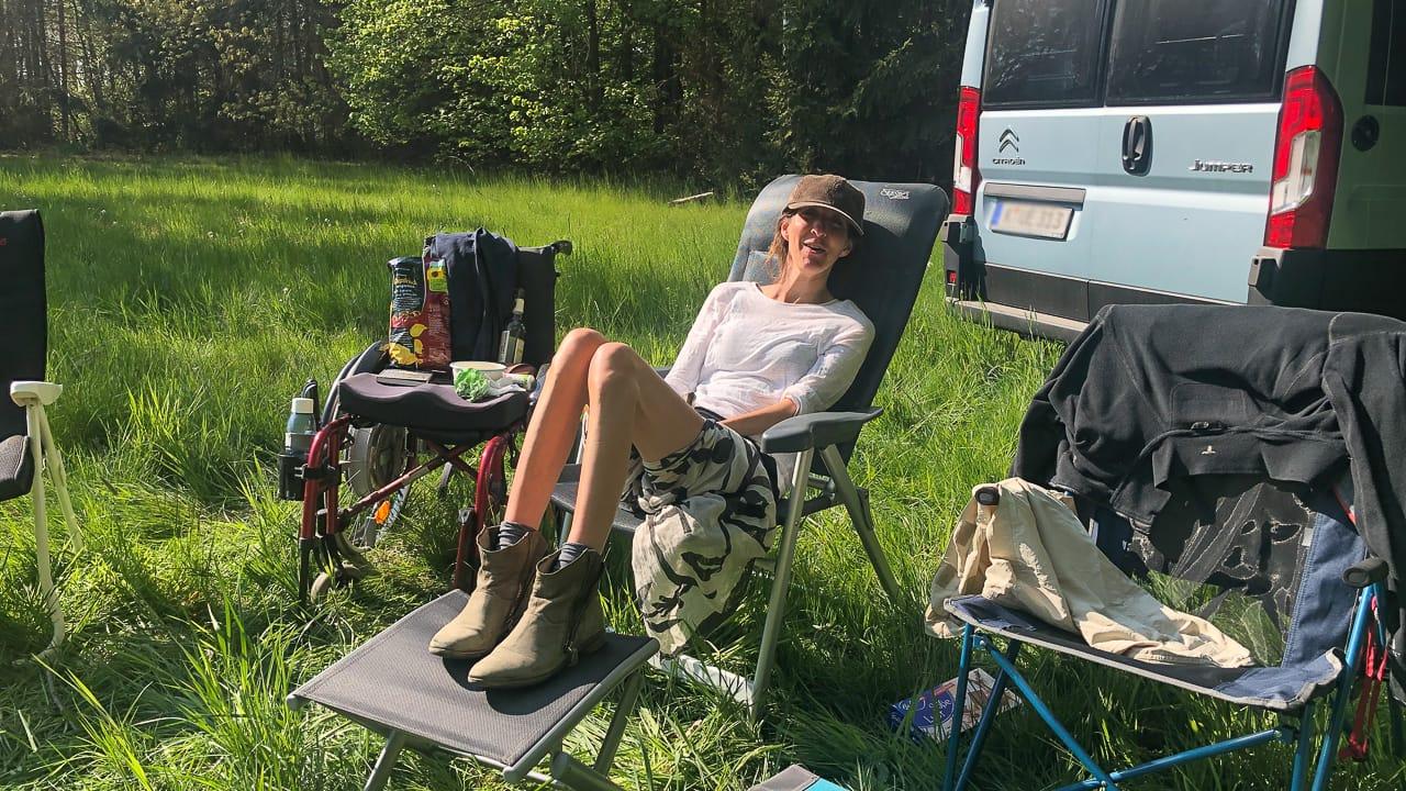 Camping mit Handicap