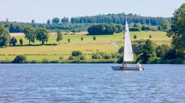 Camping in Deutschland für Wassersportler