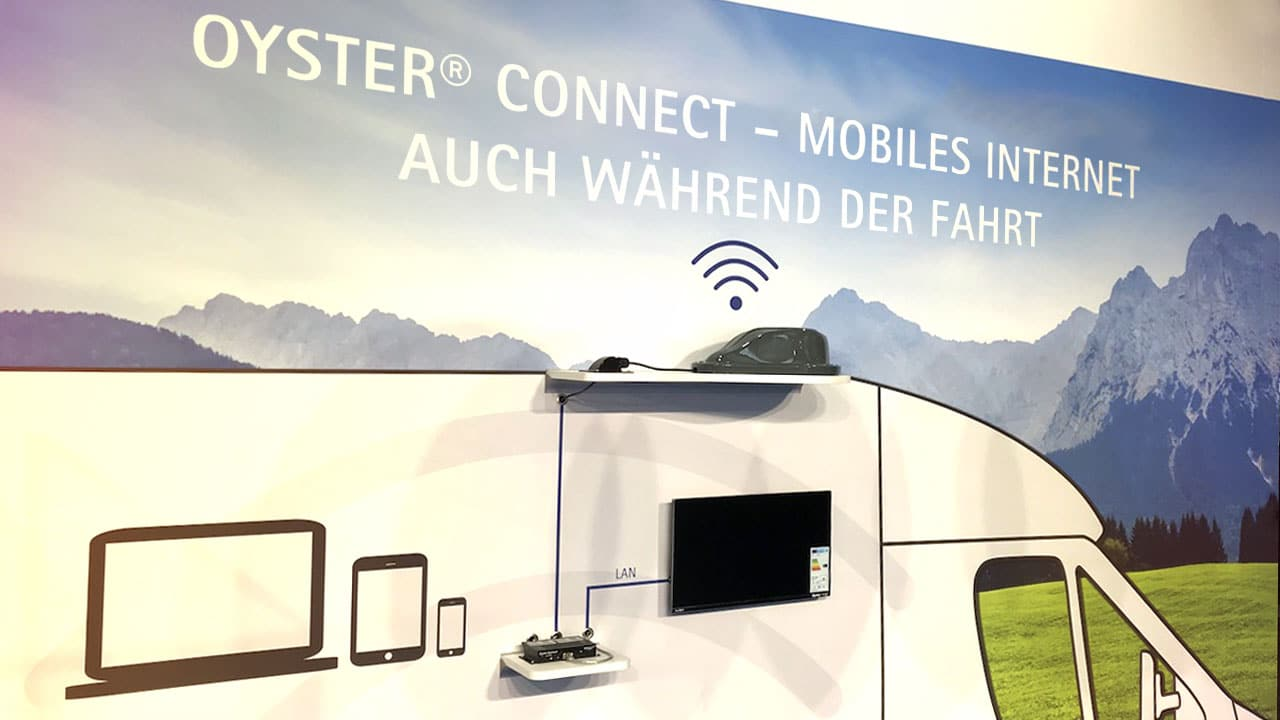 Oyster Connect mobiles Internet für Reisemobile