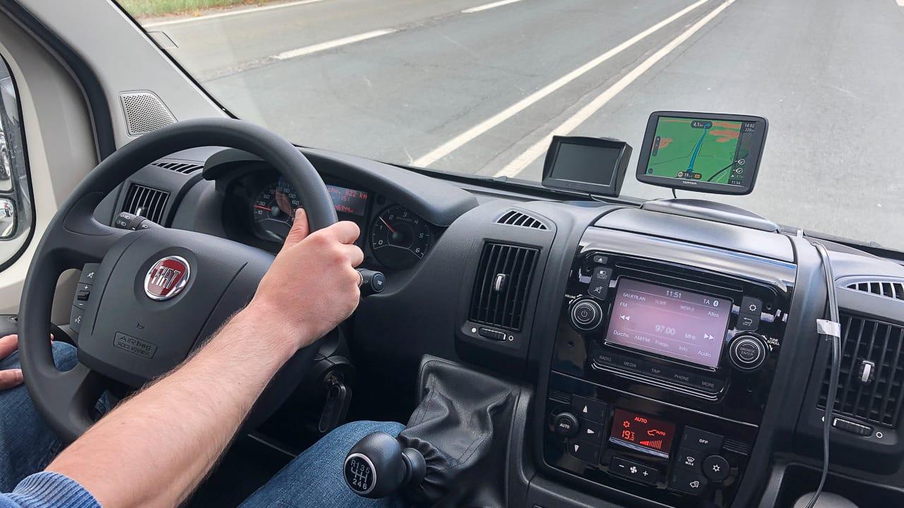 Navigation Wohnmobil Wohnwagen